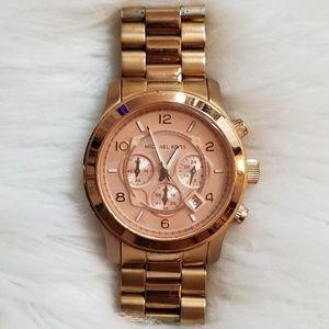 💎Michael Kors Rose Gold Watch